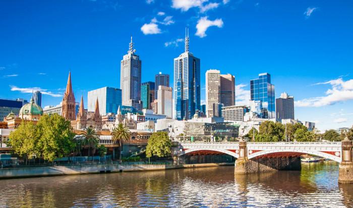 город Мельбурн