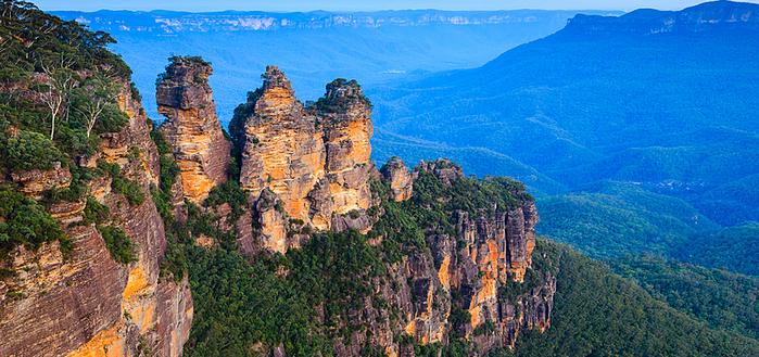 Голубые горы Австралии